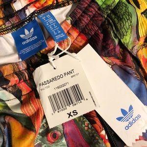 fa7ac3ea636 adidas Pants - 🐥RARE🐥 Adidas Passaredo Colorful Bird Joggers